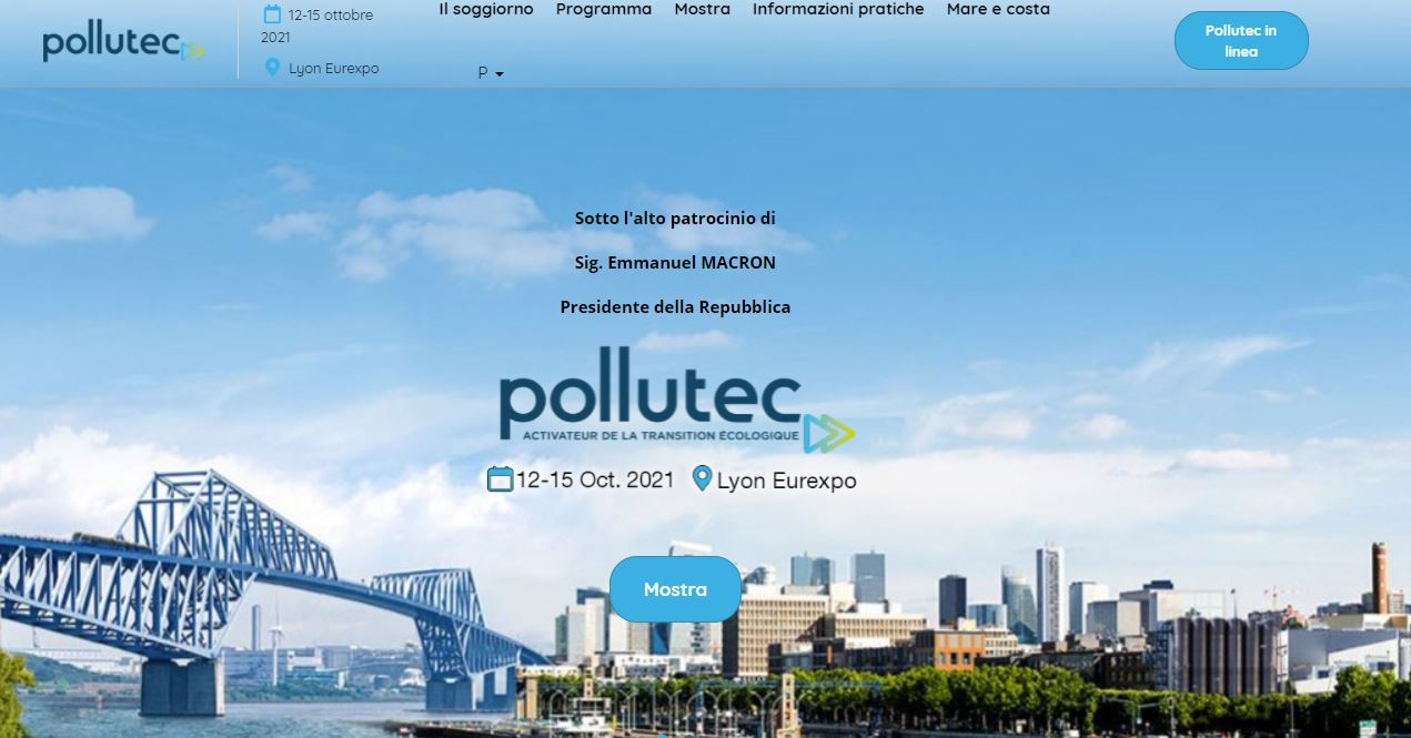 """Featured image for """"Pollutec 2021 